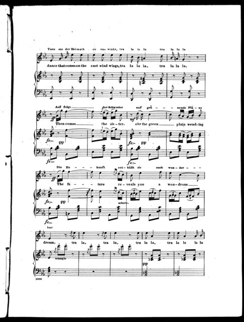 The  gipsey's song from the opera Vielka, or, The camp of Silesia