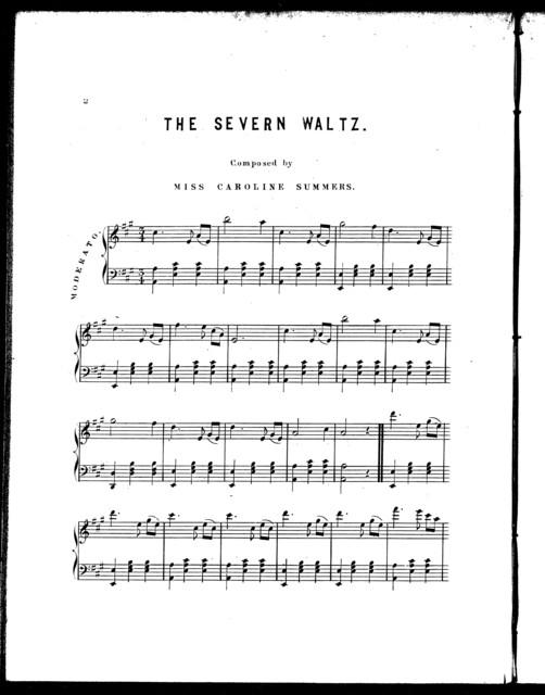 The  Severn waltz