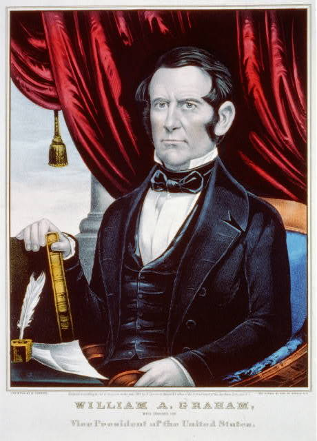 William A Graham: whig candidate for Vice President of the United States
