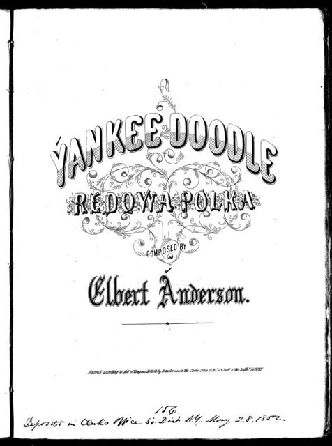 Yankee doodle redowa polka