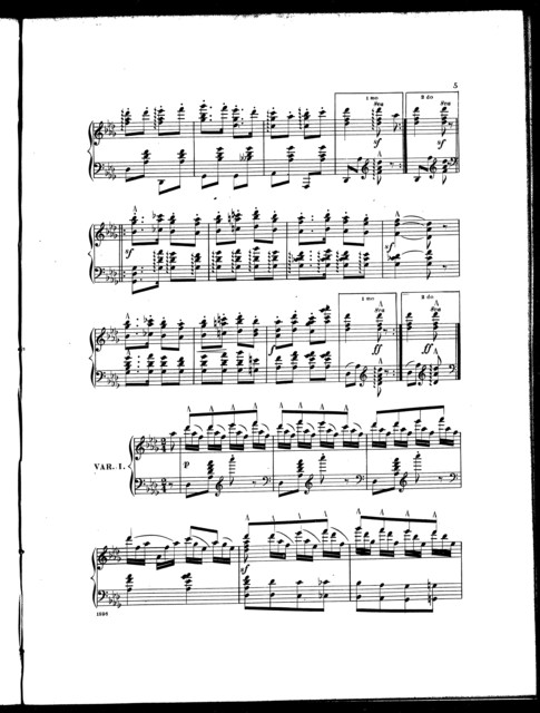 Yankee doodle, with concert variations