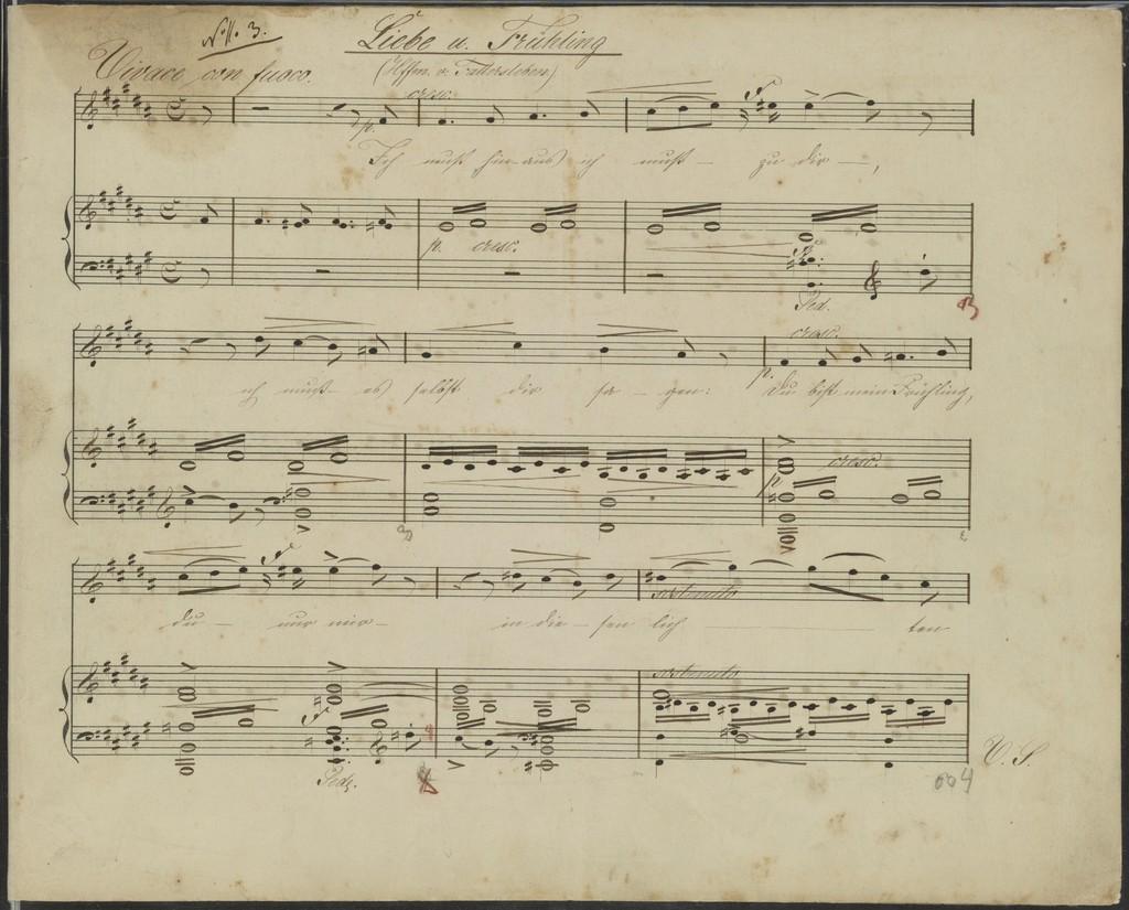 6 Gesänge für eine Sopran- oder Tenor Stimme mit Begleitung des Pianoforte, op. 3 /