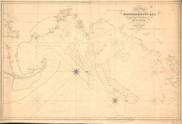A new chart of Massachusetts Bay, and part of the coast of Maine /