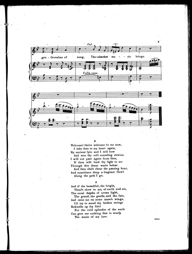 Broken lyre ballad