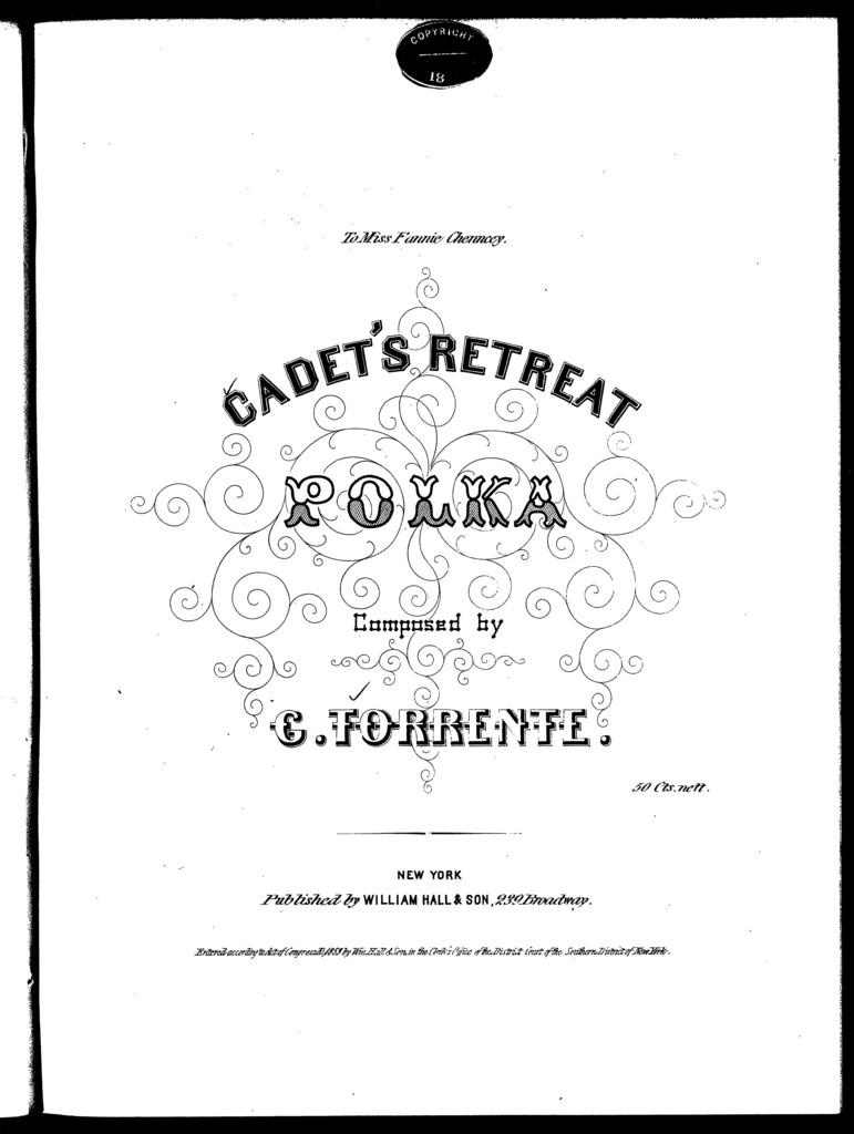 Cadet's retreat polka