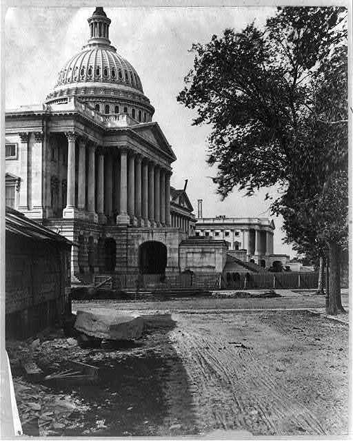 [Capitol exterior, east front]