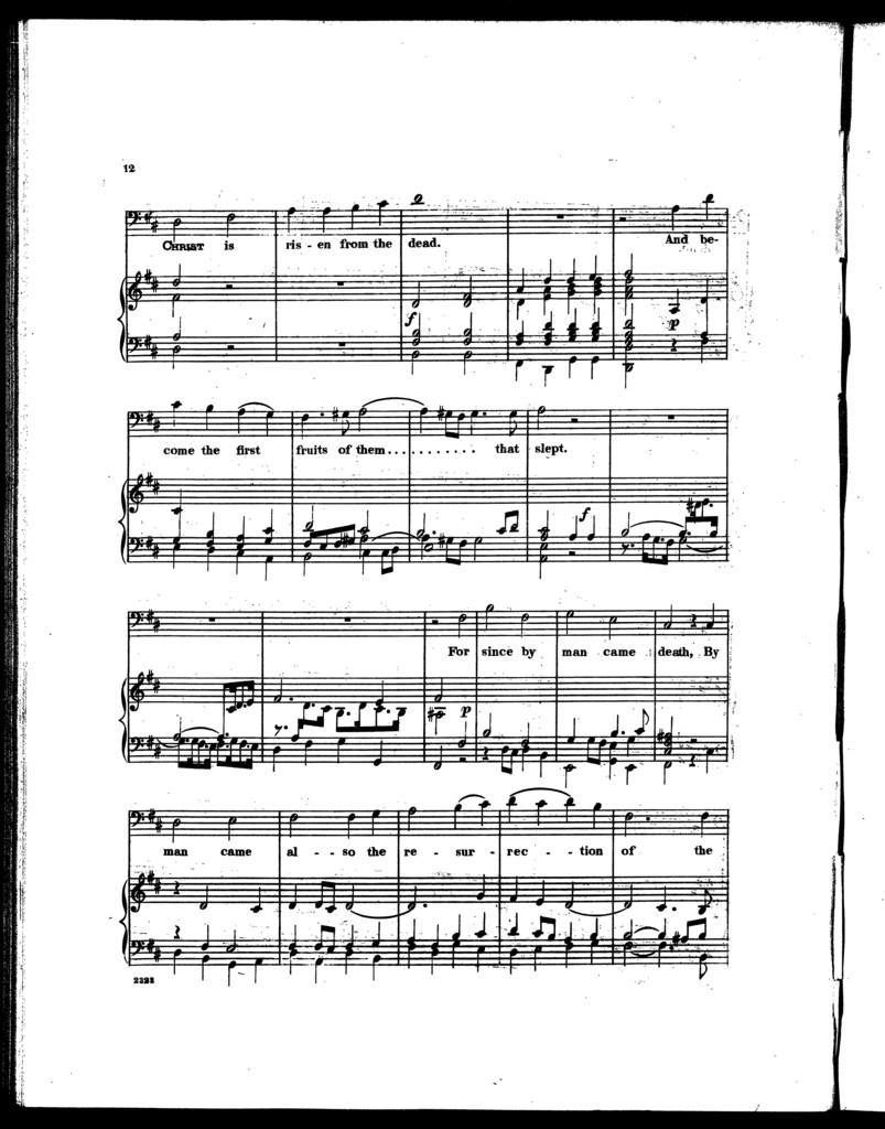Easter anthem
