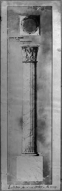 Example of column in U.S. Capitol