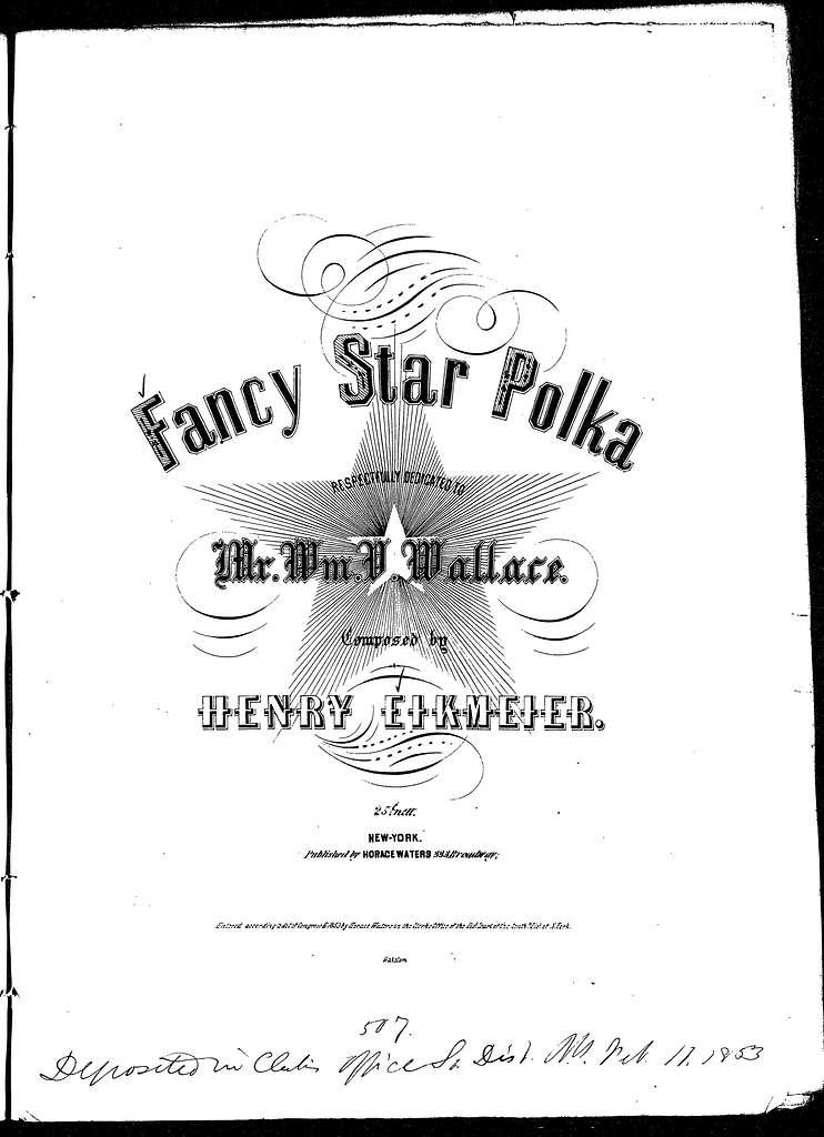 Fancy star polka