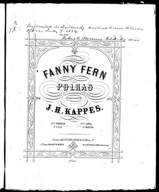 Fanny Fern polkas