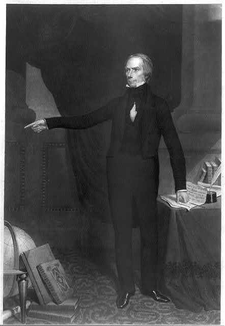 Henry Clay / engraved by J. Sartain from original drawings and daguerreotypes.