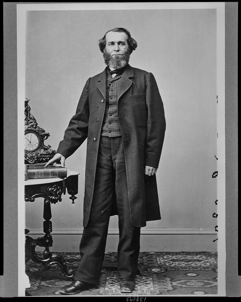 [James Cameron Allen, Democrat congressman from Illinois, full-length portrait, standing, facing front]