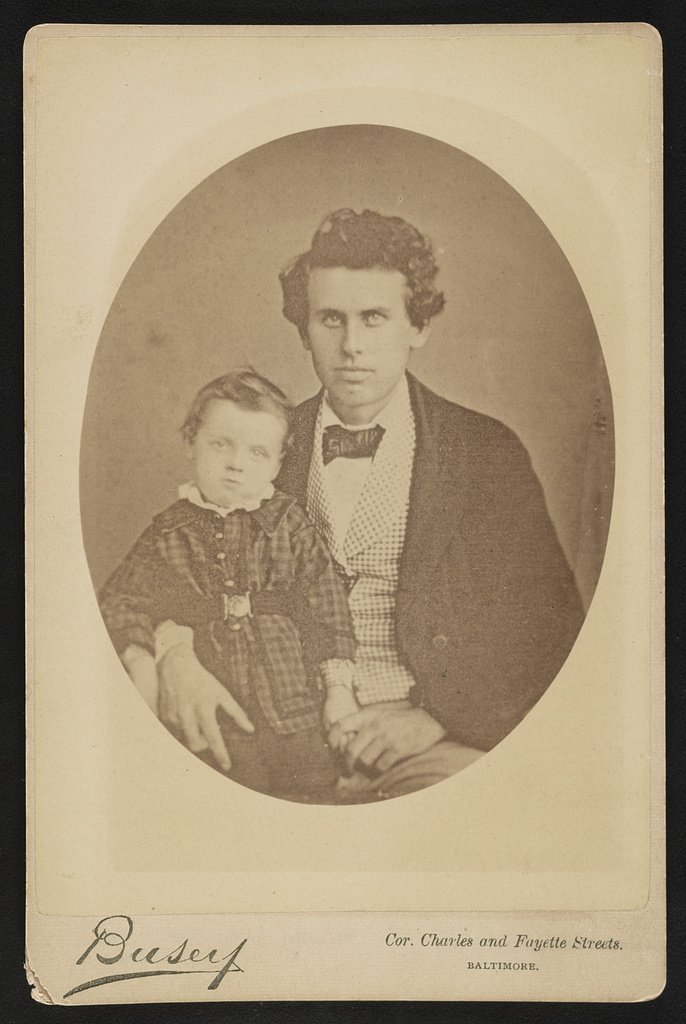 John T. Ford, age 24, Chas E. Ford [age] 2