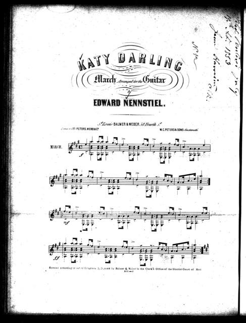 Katy darling march