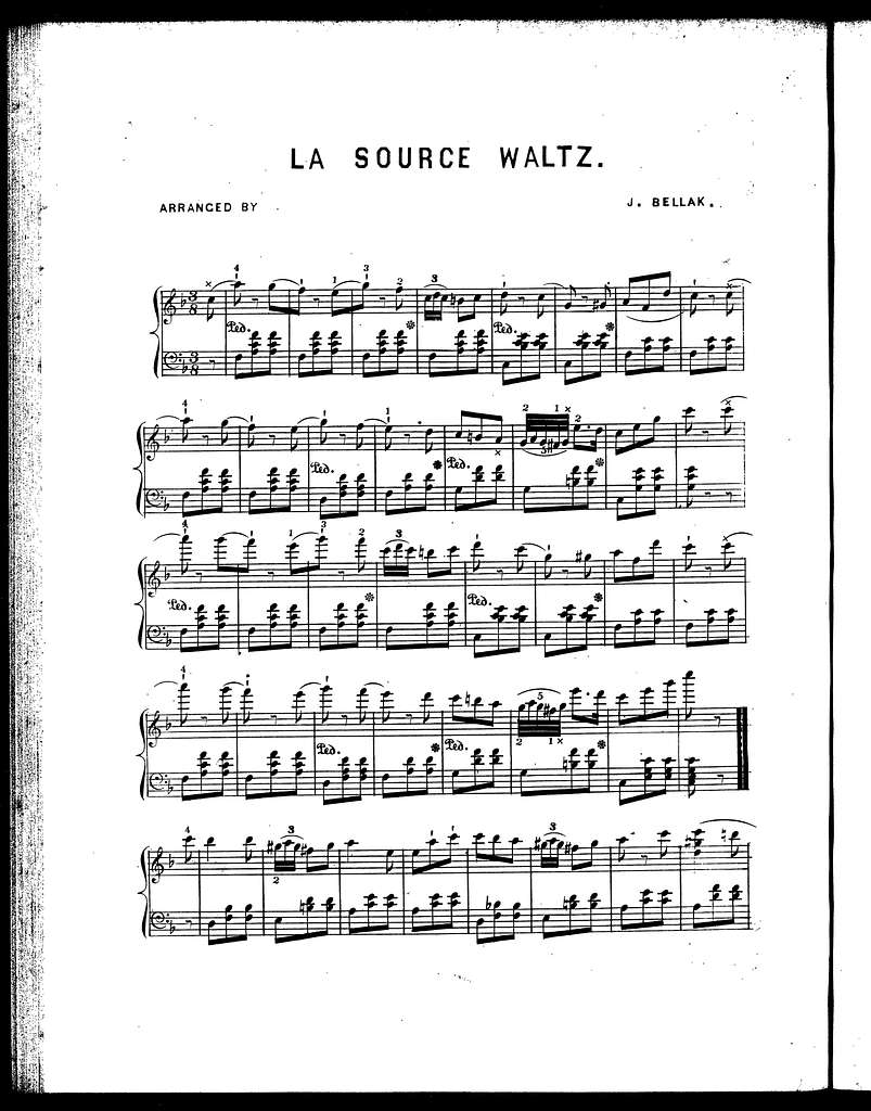 La source waltz