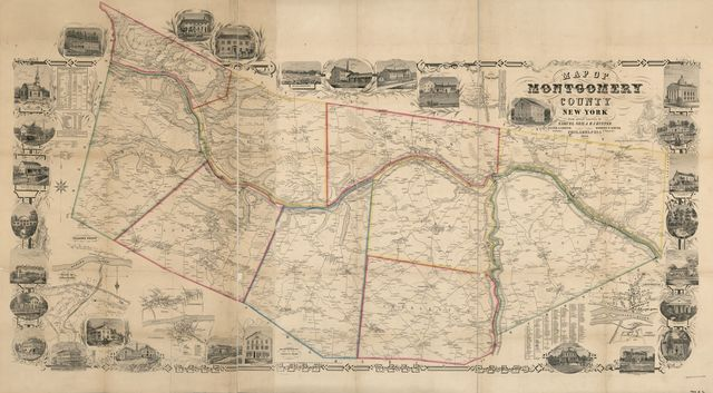 Map of Montgomery County, New York : from actual surveys /