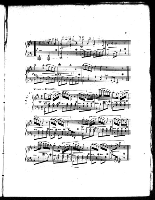 Massa's in the cold ground, the beautiful plantation melody, op. 367