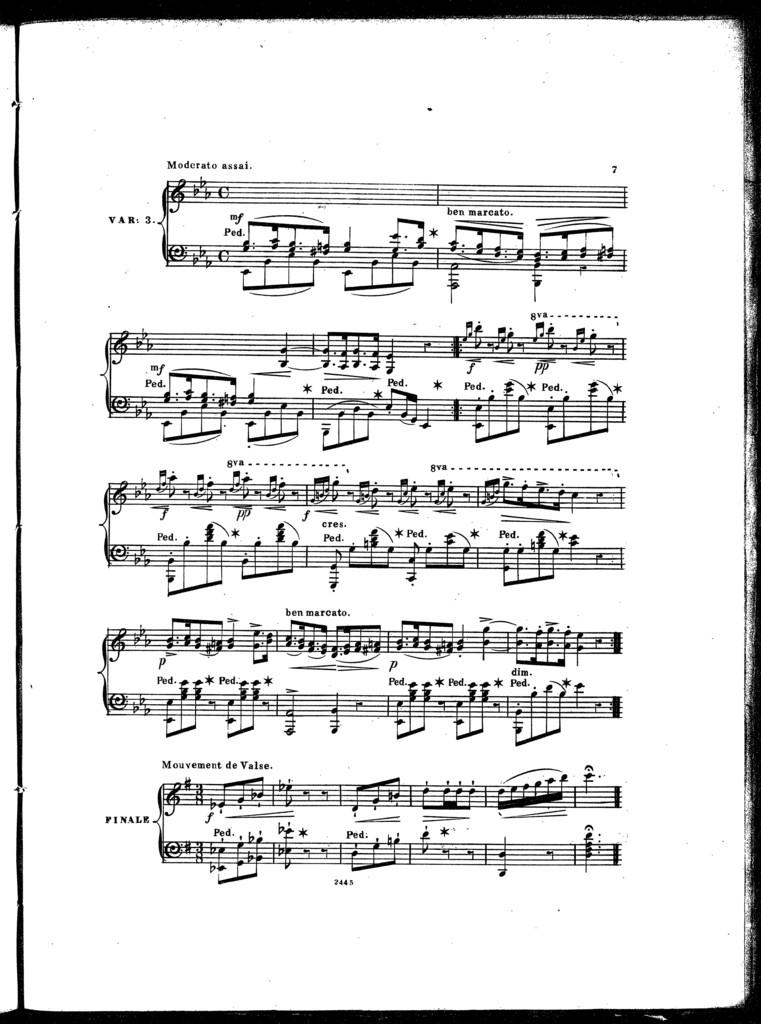 Molly! Do you love me, op. 300