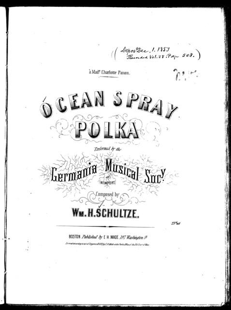 Ocean spray polka