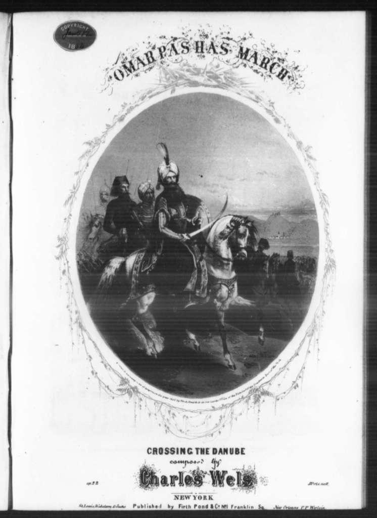 Omar Pasha's march, op. 22
