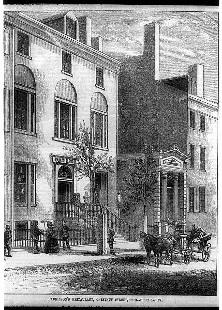 Parkinson's restaurant, Chestnut St., Philadelphia, Pa.