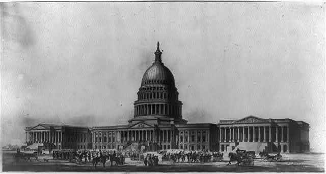 [Perspective view of Capitol]