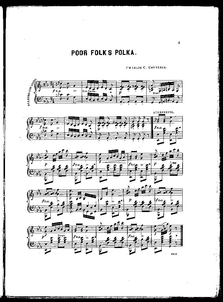 Poor folks polka