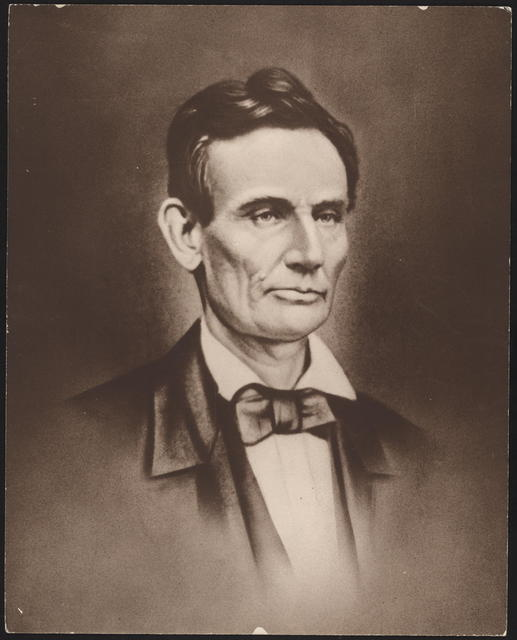 "[Print of the ""lost ambertype"" of Lincoln.]"
