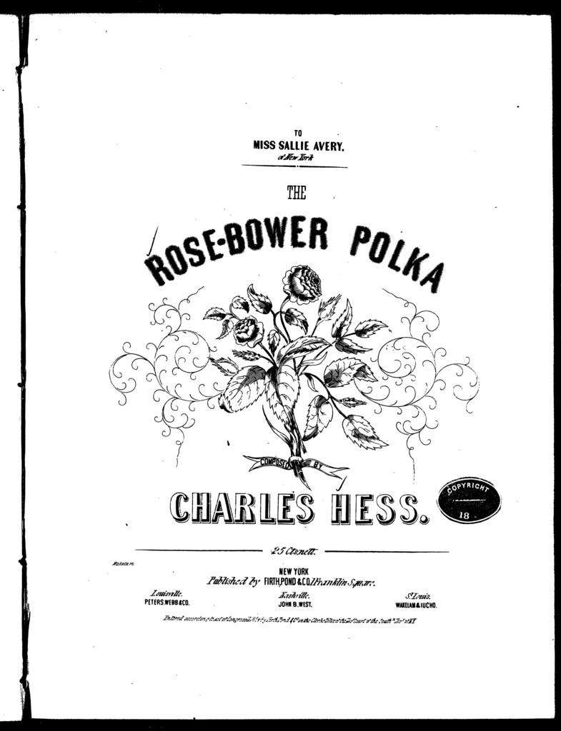 Rose bower polka