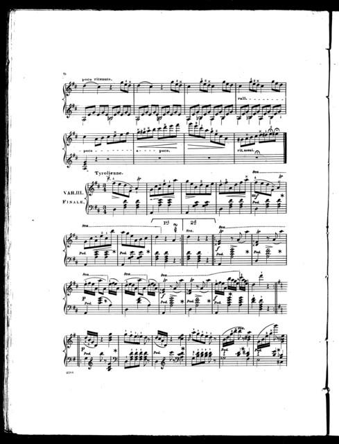 Swiss cottage schottisch, with variations, op. 44