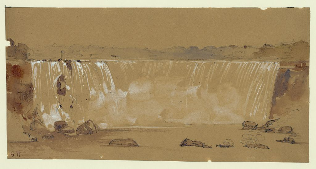 The Horse Shoe Falls, Niagara, from the Canada side