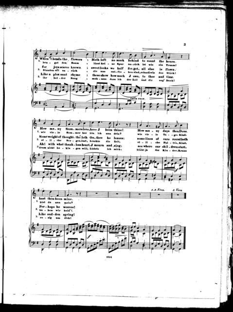 The  husbands' song = Des ehemanns gesang