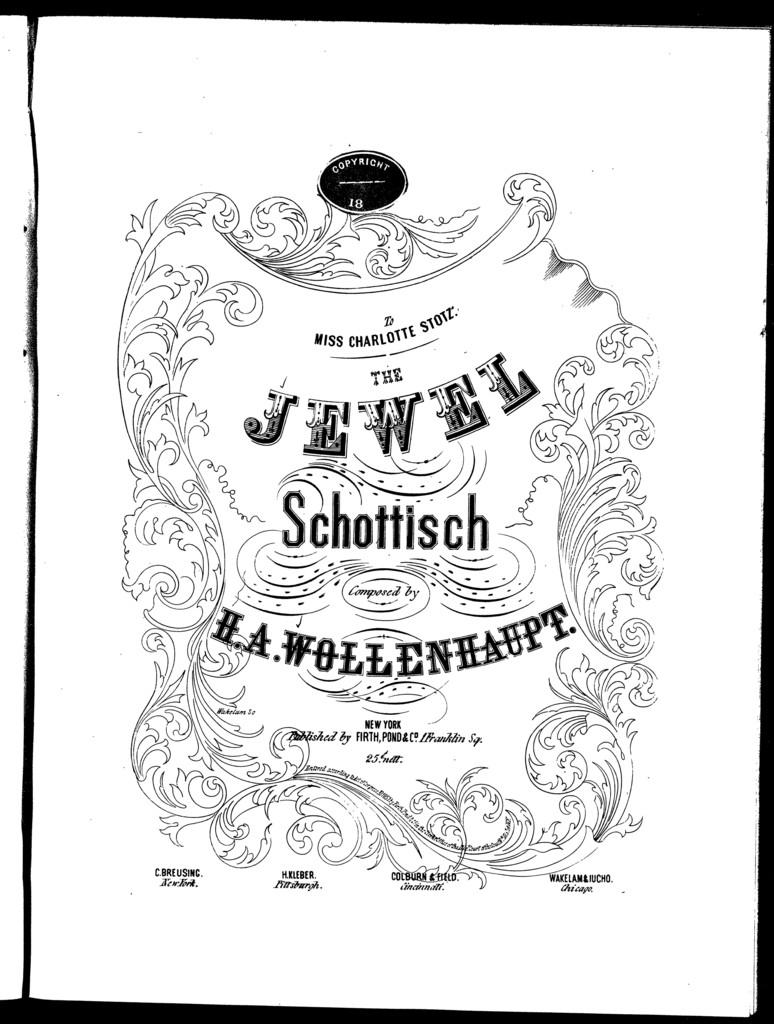 The  jewel schottisch