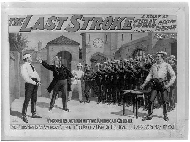 The last stroke a story of Cuba's fight for freedom : by I.N. Morris.