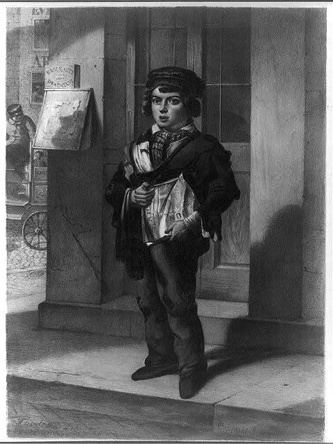The newsboy