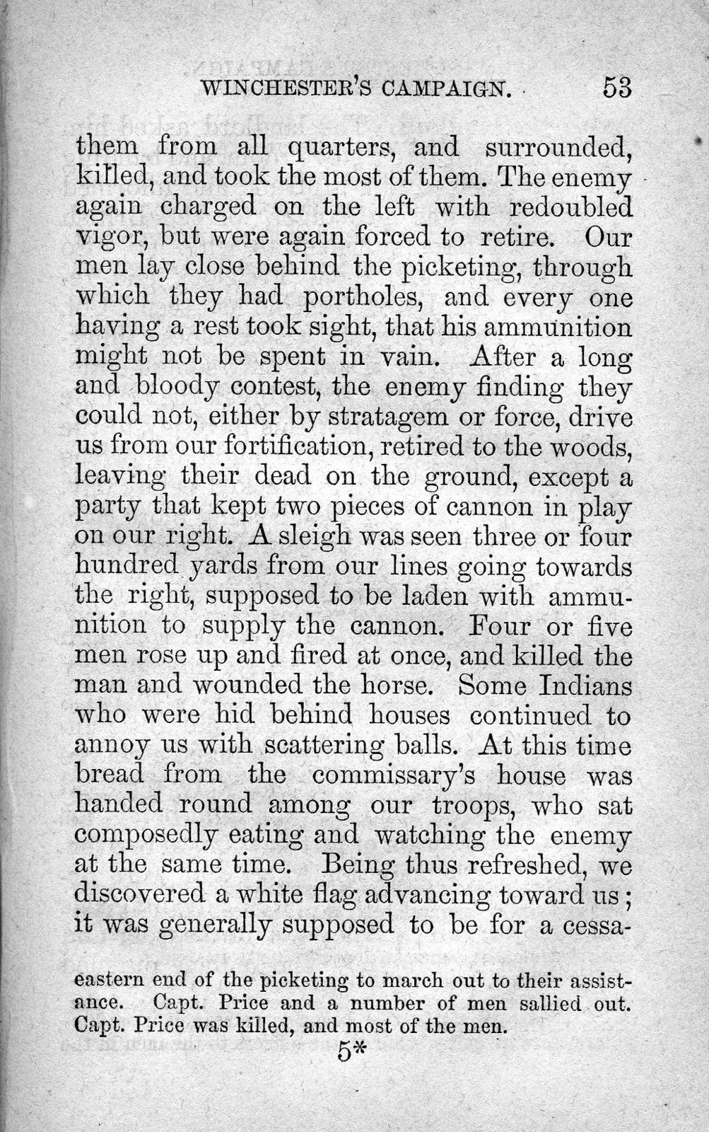 A journal, containing an accurate and interesting account of the hardships, sufferings, battles, defeat, and captivity of those heroic Kentucky volunteers and regulars : commanded by General Winchester, in the years 1812-13.  Also, two narratives by men that were wounded in the battles on the River Raisin and taken captive by the Indians