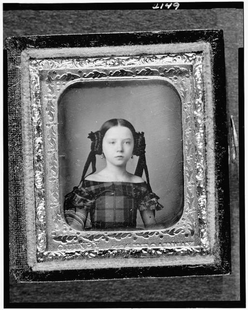 [Augusta Currie Bradhurst Field, head-and-shoulders portrait of a woman, facing front]