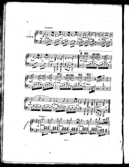 Auld lang syne with brilliant variations, op. 412