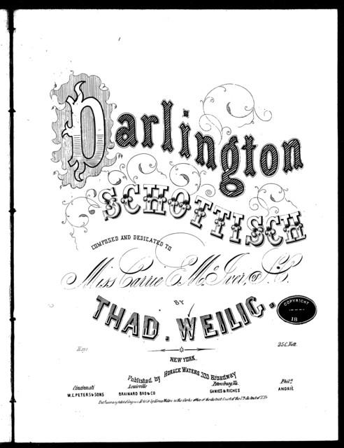 Darlington schottisch