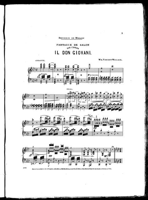 Fantasie de salon sur l'opera il Don Giovani