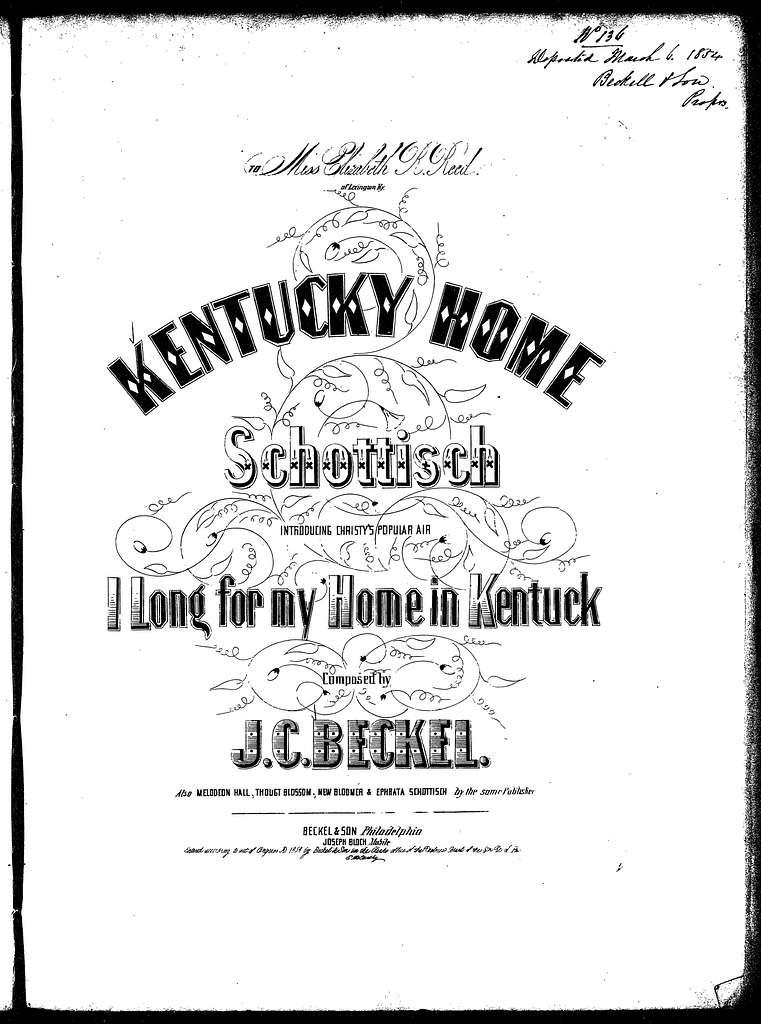 Kentucky home schottisch
