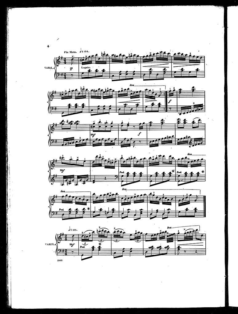 """"""" Mary Blane"""" with brilliant variations, op. 48"""