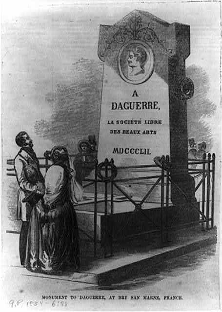 Monument to Daguerre, at Bry San Marne, France