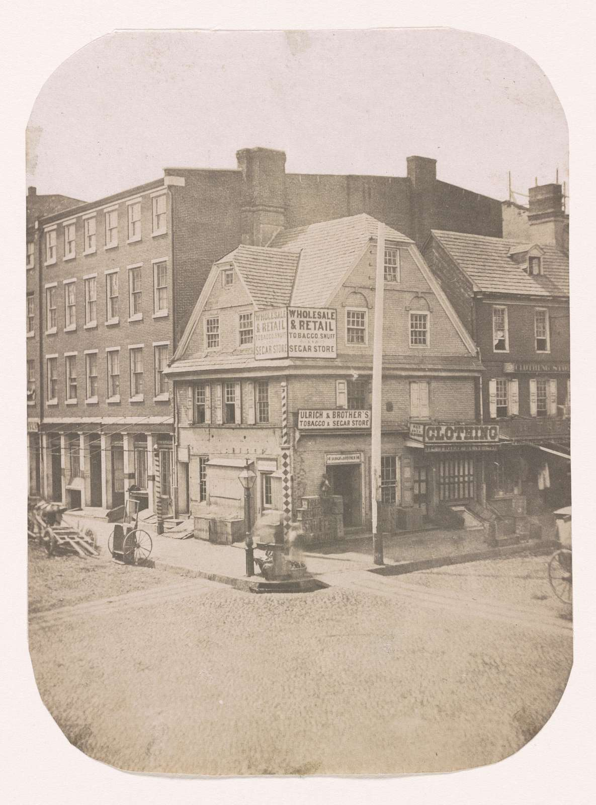 Old London coffee house