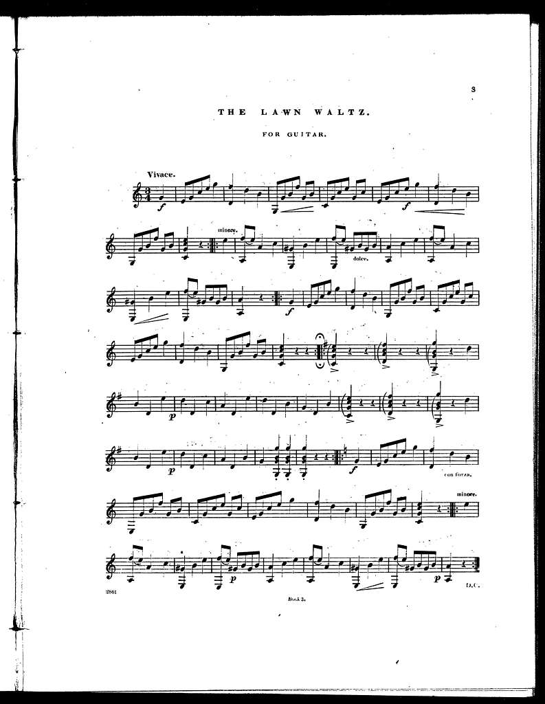 Pocahontas polka -- The lawn waltz -- Wild robin waltz -- The kiss polka