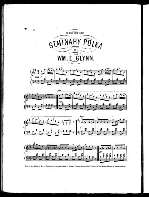 Seminary polka