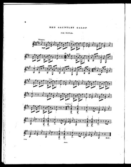 Souvenir de Jullien waltz -- Dan Tucker polka -- Red gauntlet galop -- Lucy Long quick step