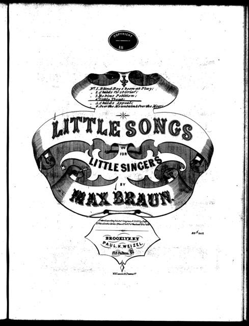 The  little trout, op. 13