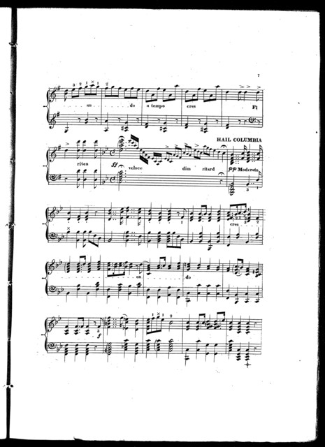 The  nations, a melange containing six melodies