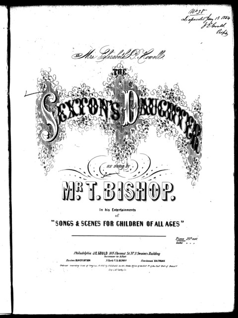 The  sexton's daughters